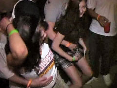 Common disco party turns into hot groupsex orgy last night