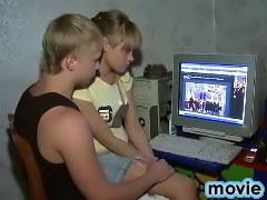 Hot nice virgin blonde teen girl getting fucked by dirty guy
