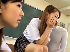 Asian takes a hard ramrod fucking before licking a facial